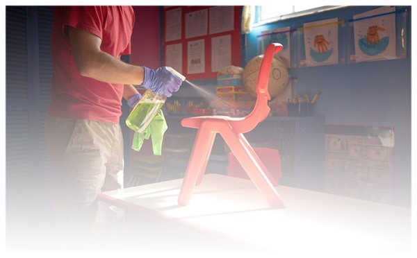 Sprzątanie przedszkoli