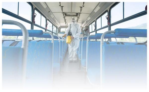 Sprzątanie, czyszczenie autobusów