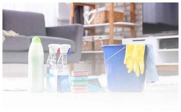 Sprzątanie przed wynajęciem